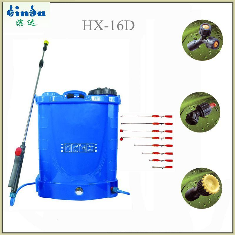 16L Garden Tool Power Electric Battery Sprayer