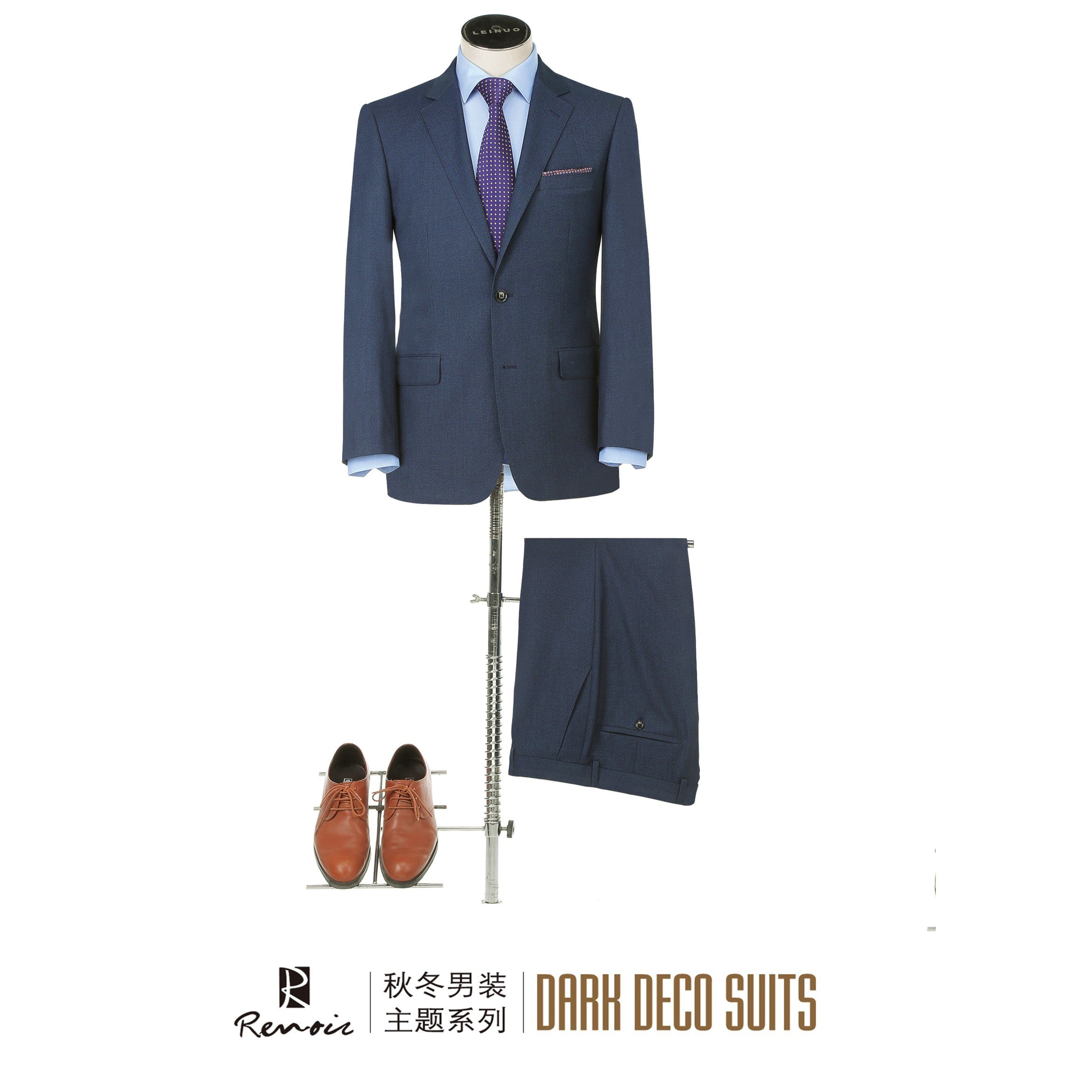OEM 2 Piece Classic Fit Men′s Business Suit