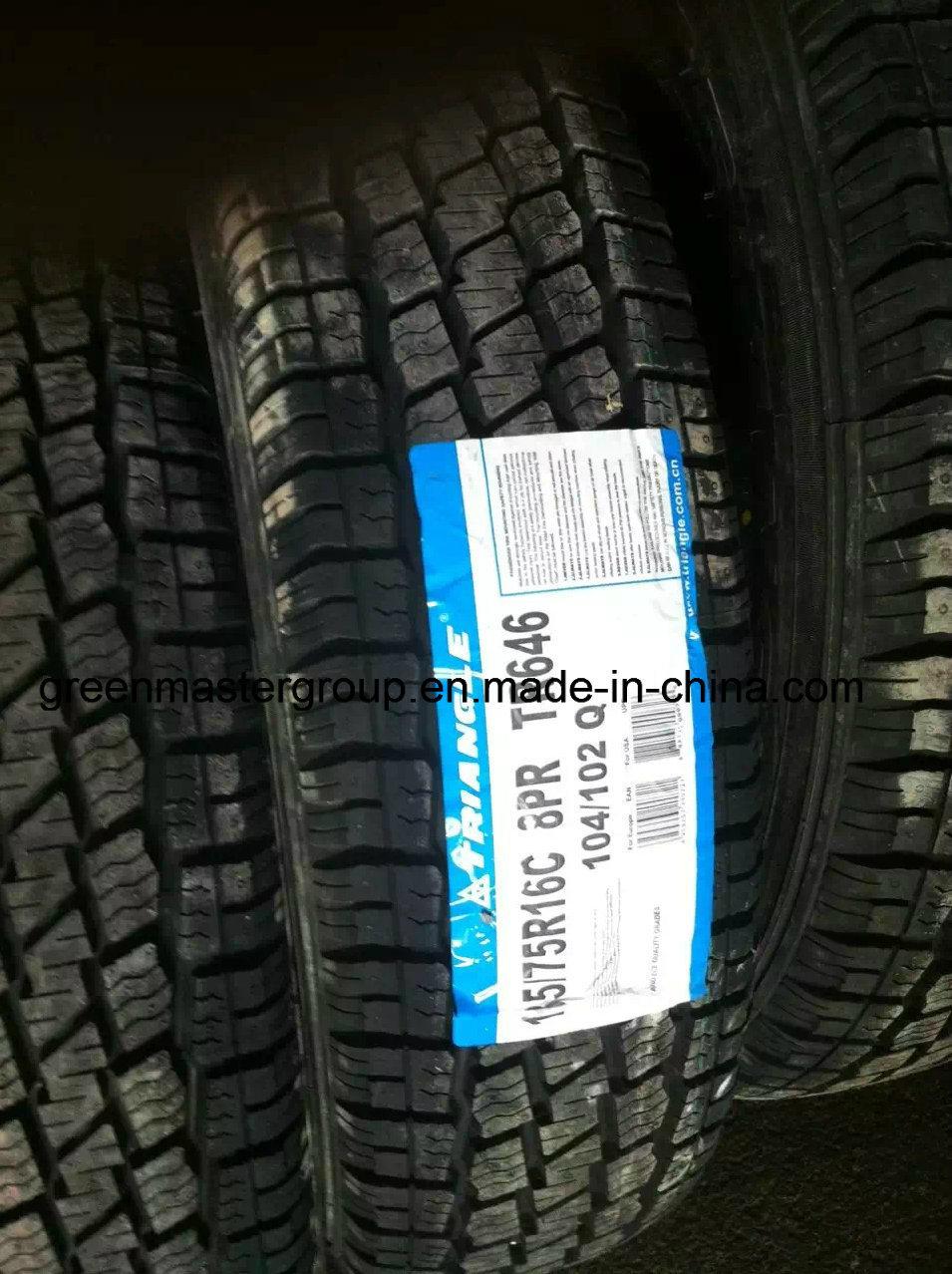 185/75r16c 175/75r16c Tr646 M+S Radial Car Tire for Van Tyre