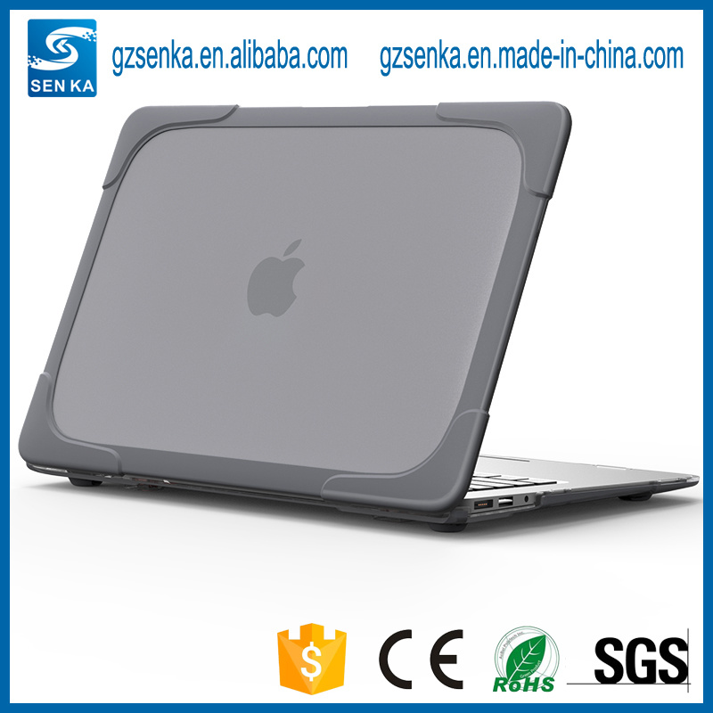 """Transparent Plastic Good Hard Protective Shell Skin Protector Case Cover for MacBook Air 13"""""""