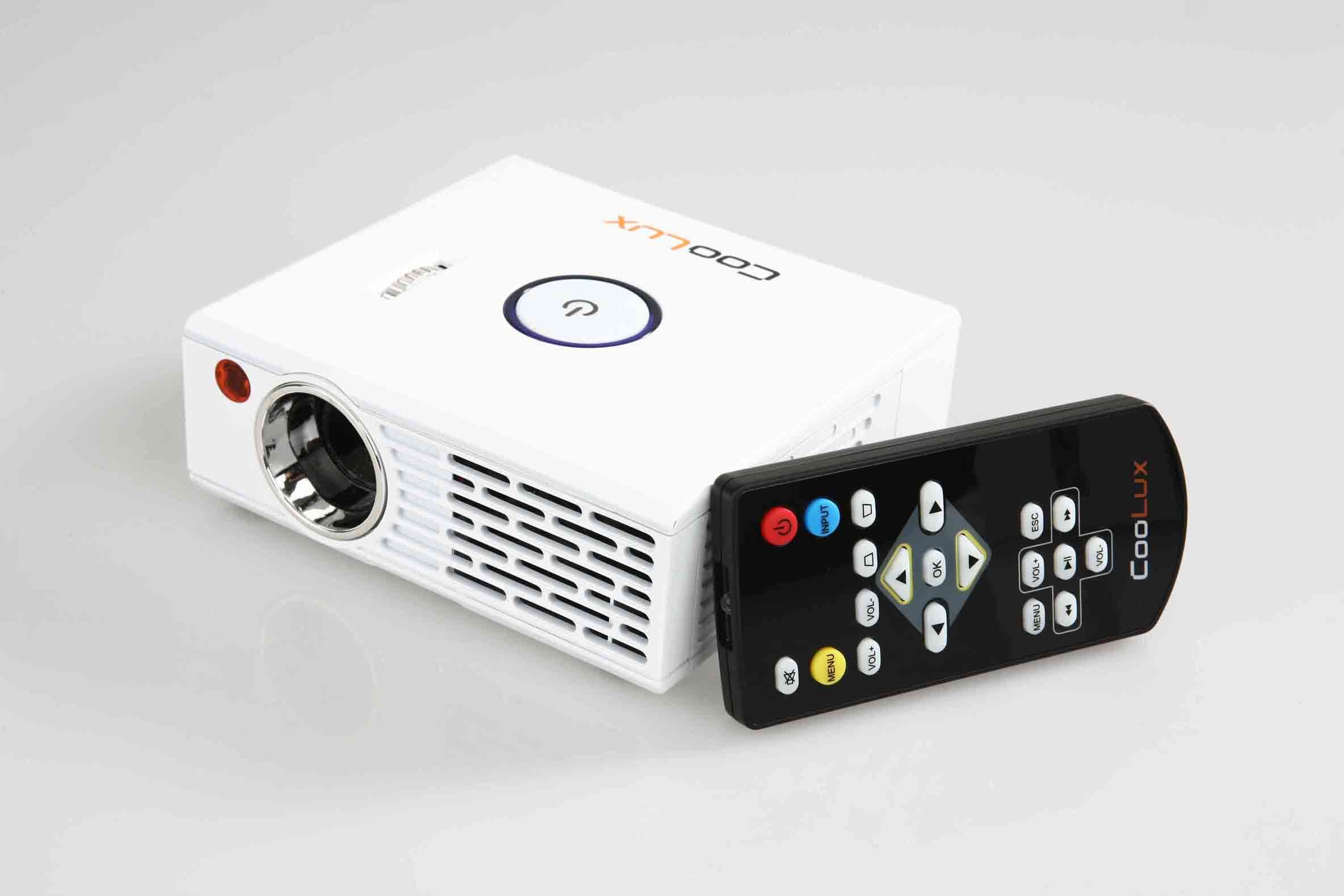 China coolux hd led projector 1080p hdmi utv china for Hd pocket projector