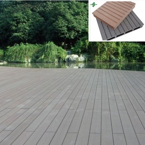 China eco friendly plastic wood composite flooring china for Plastic wood flooring