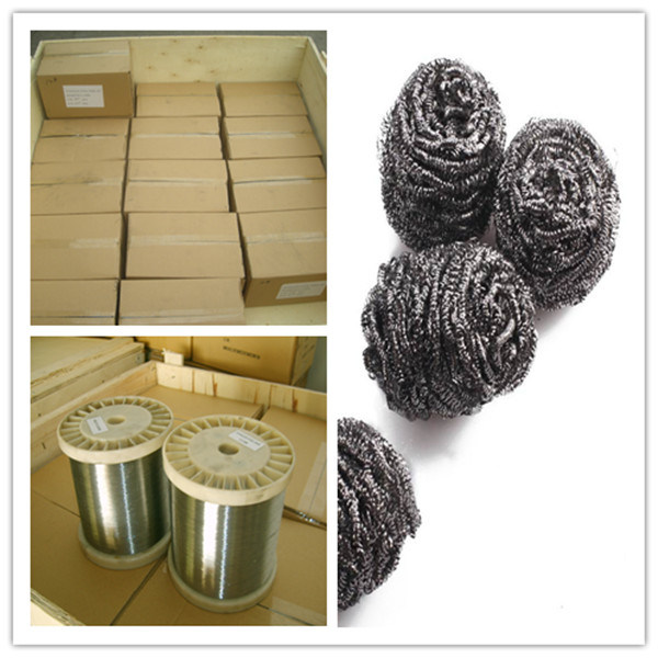 0.13mm Stainless Steel Wire 410 for Making Scourer