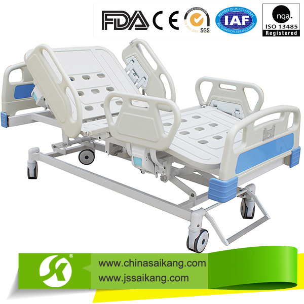 Medical ICU Hospital Bed with ABS Siderail (CE/FDA)
