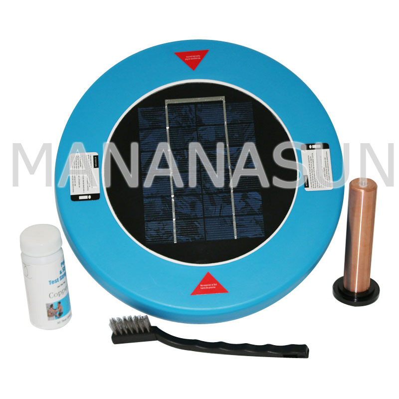China solar pool ionizer for swimming pool use yq p001 - Swimming pool ionizer ...