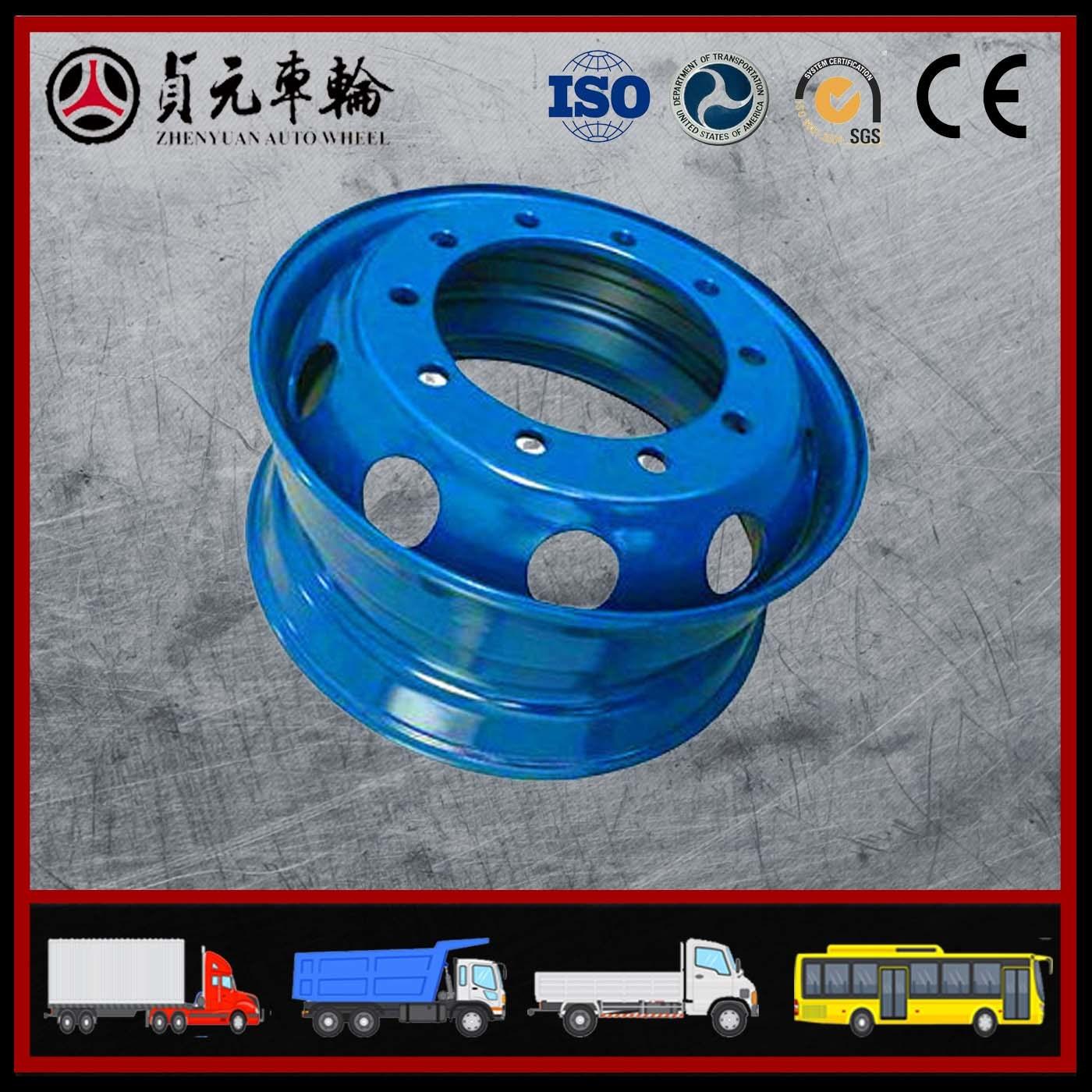 High Quality Trailer Wheel Rims for Zhenyuan Wheel (17.5*6.0)