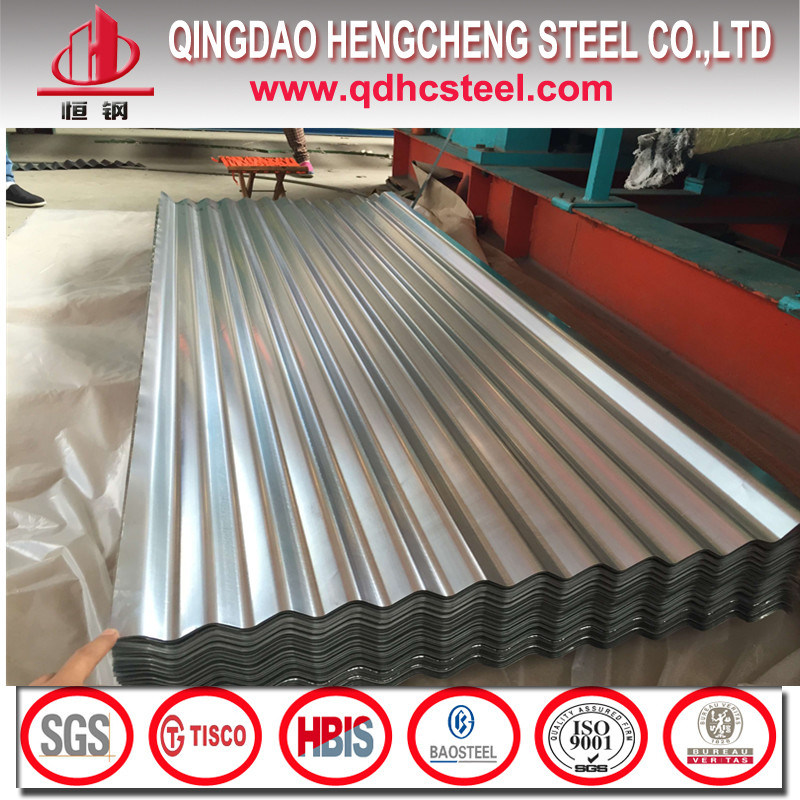 G60 26gauge SGCC Galvanized Iron Metal Roofing Sheets
