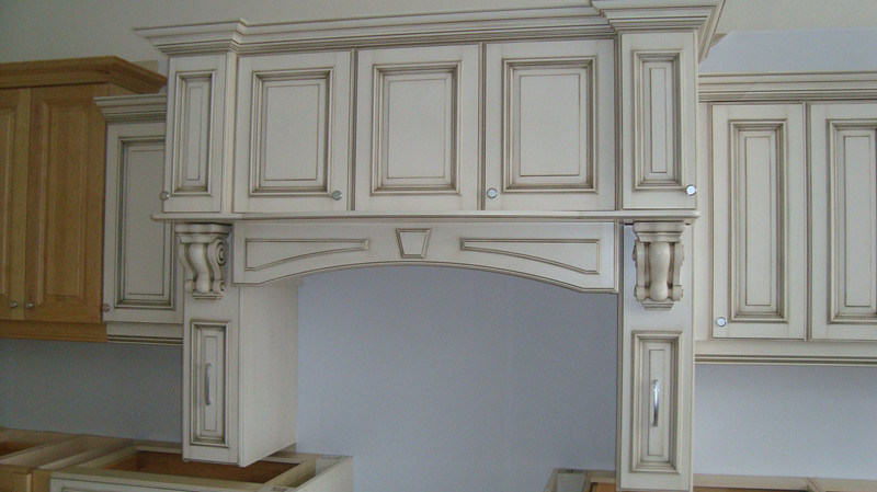 Guanjia MDF Lacqure Kitchen Furnitures Kc-033
