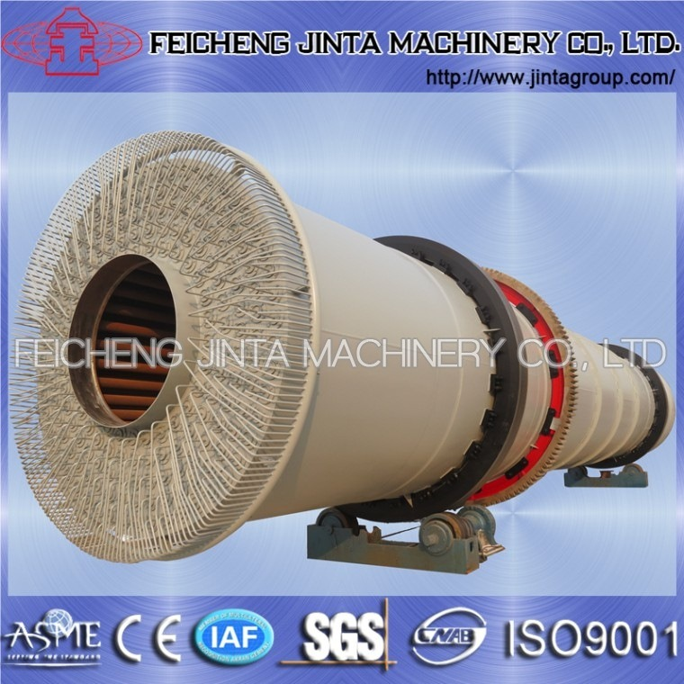 China Bailing Brand High Efficiency Rotary Dryer