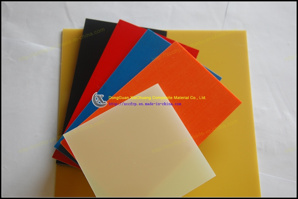 Colored Epoxy Fiberglass Laminates Fr4 G10