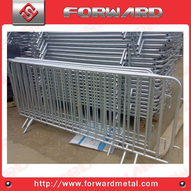 Galvanized Steel Crowd Control Barrier