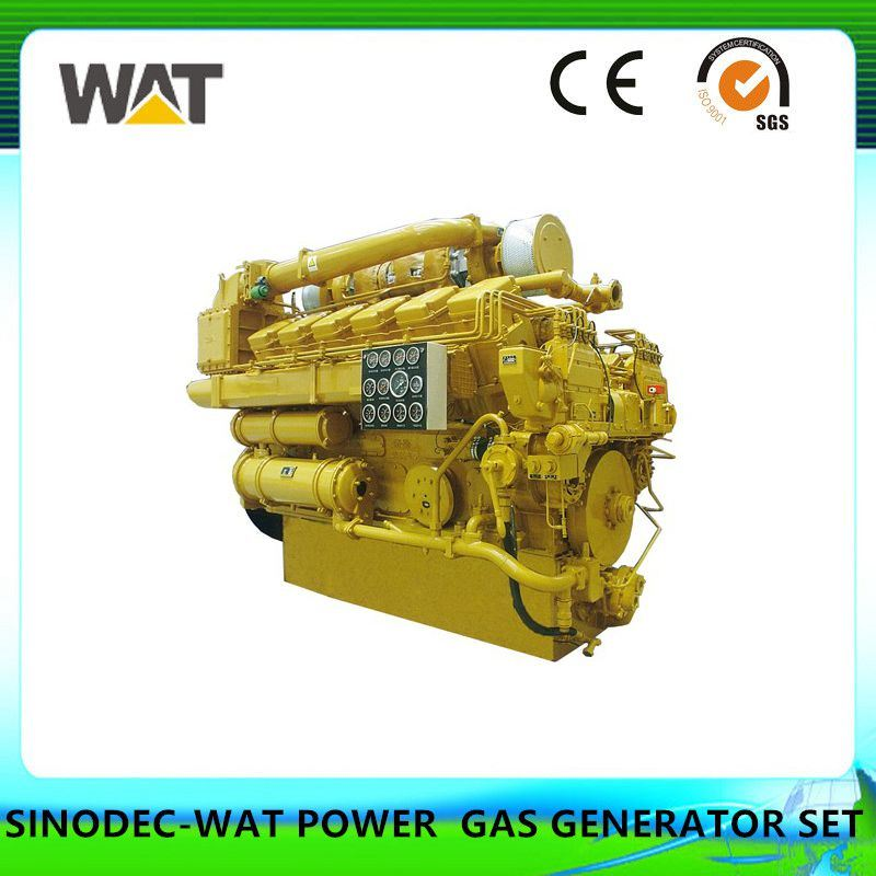 150kw Cummins Series Biogas Generator Set AC Three Phase Output