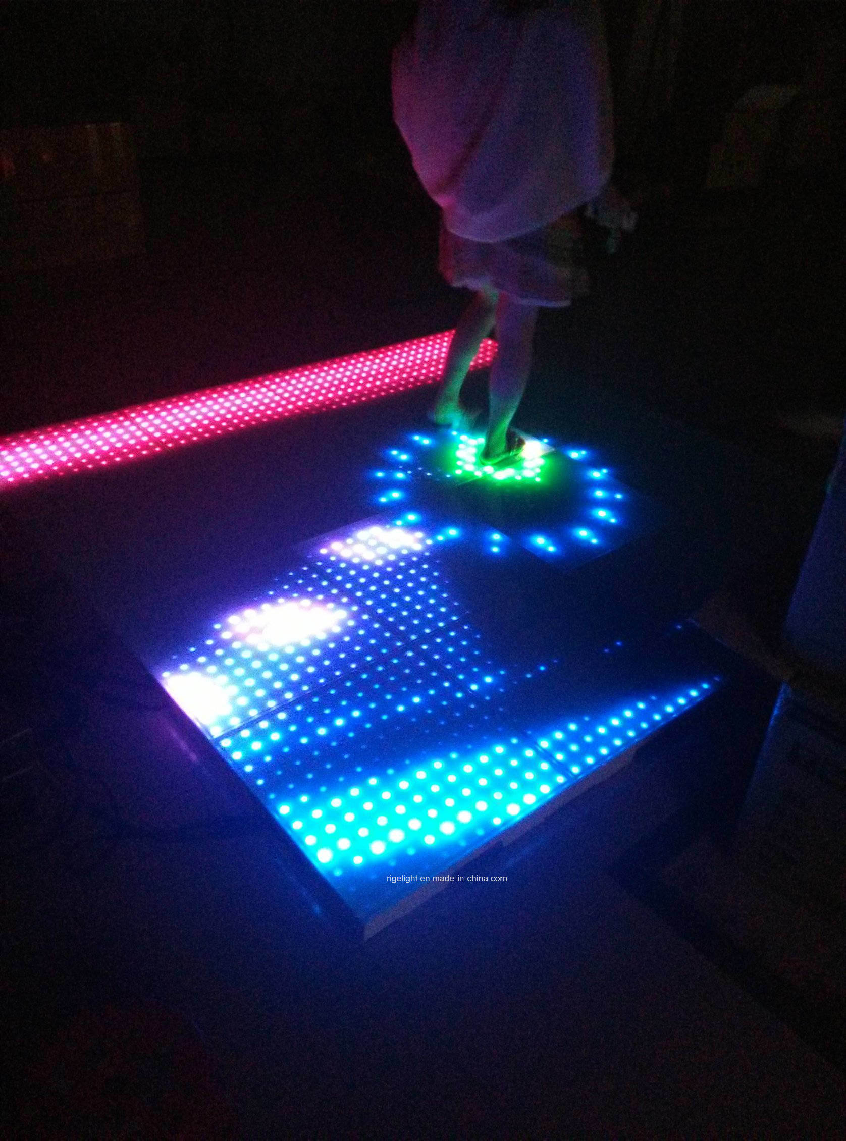 8*8 Pixels LED Interactive Dance Floor for DJ Dicso Light