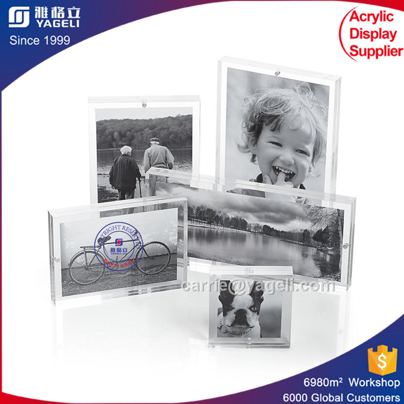 Yageli High Transparent Acrylic Photo Frame