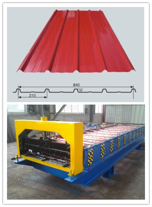 Steel Corrugated Roofing Sheet Roll Forming Machine
