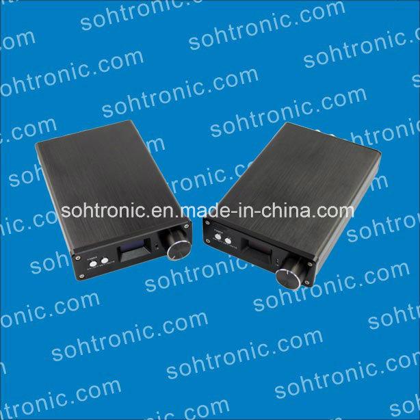 Sta326 OLED 2.0 Channel Amplifier USB Fiber Coaxial Amplifier