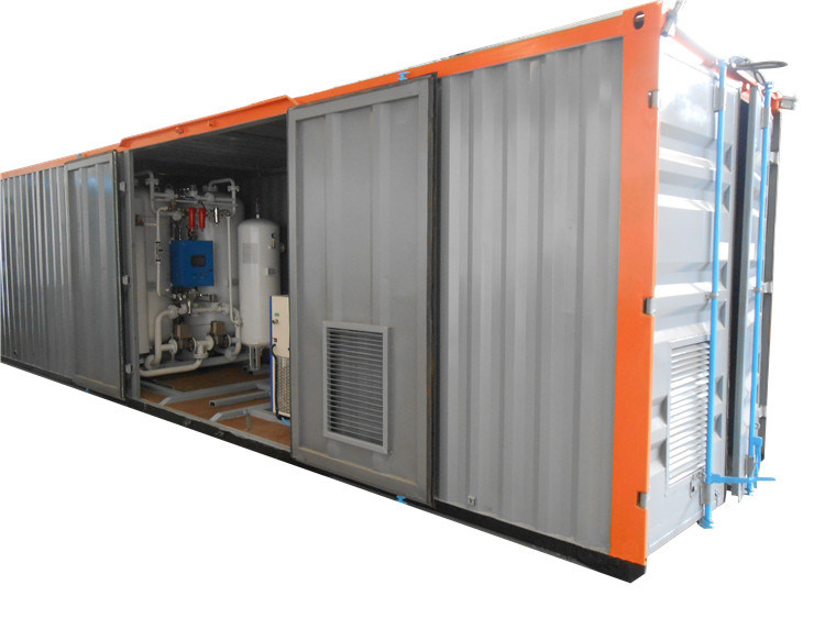 Movable Oxygen Generator with High Purity for Filling Cylinders