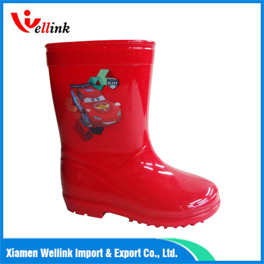 Children Fashion Waterproof Rain Boots