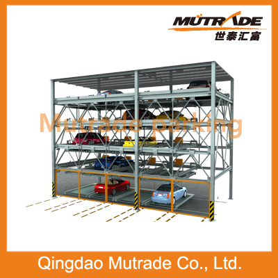 Four Level Car Automatic Parking Equipment