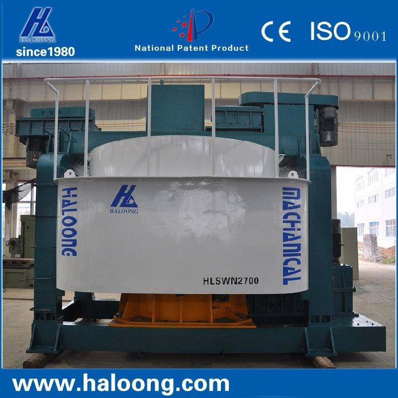 2700mm Automatic High Speed Adjustable Mixer Machine