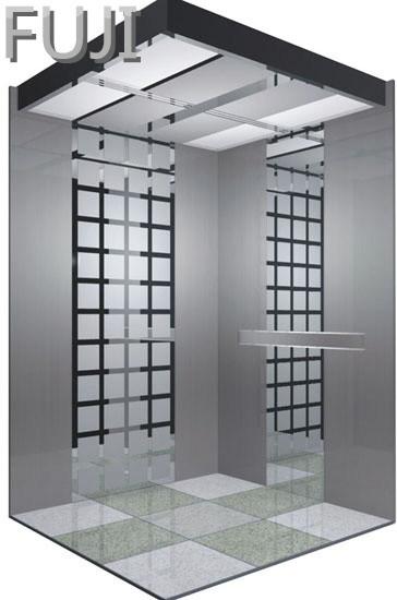 Classic Style Dark Grey Passenger Lift