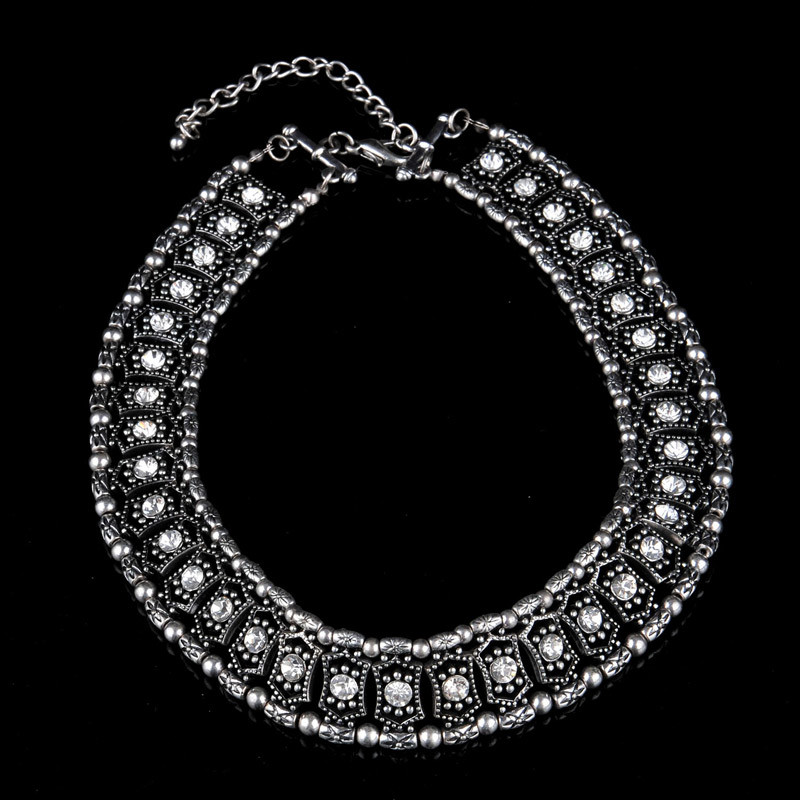 Glory Diamond with Chain Necklace (XJW13368)