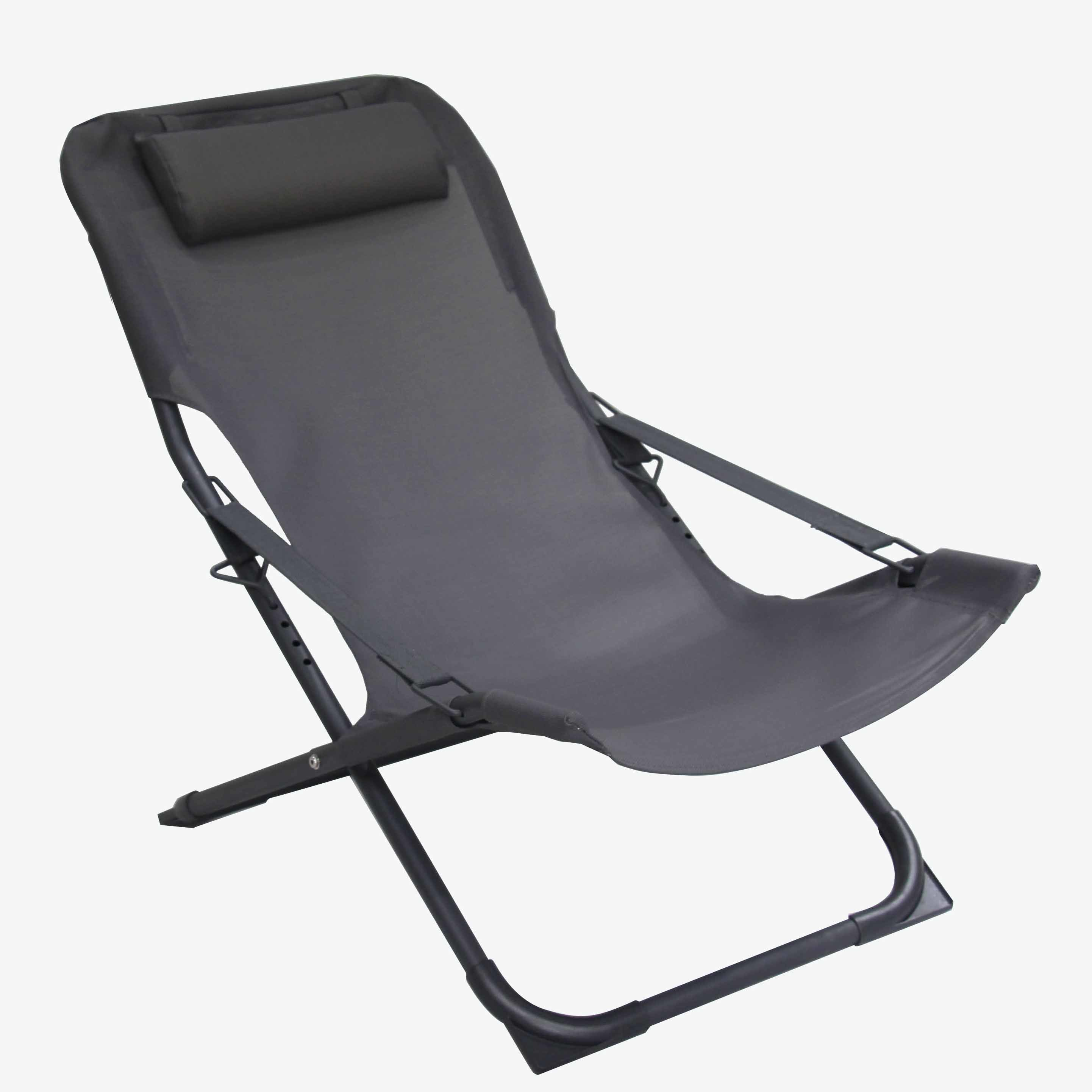 Modern Euro Outdoor Patio Furniture Garden Aluminum Sling Chairs