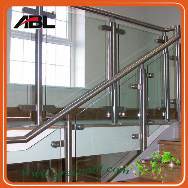 balustrade int rieure dd002 d 39 escalier d 39 acier inoxydable. Black Bedroom Furniture Sets. Home Design Ideas