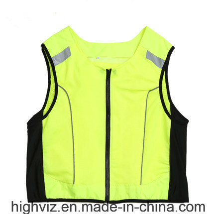 High Visibility Cycling Vest for Outdoor Safety (C2426)