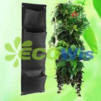 4 Pocket Reinforced Felt Vertical Gardening Planter (HT5092C)