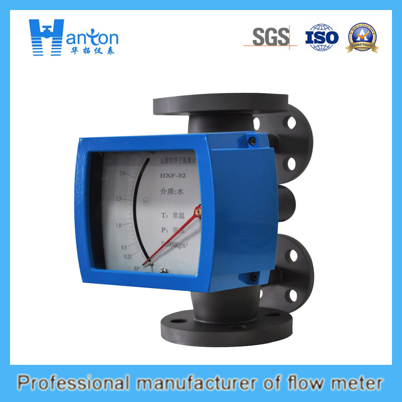 Vertical Installation 316L Metal Tube Rotameter for Dn50-Dn100