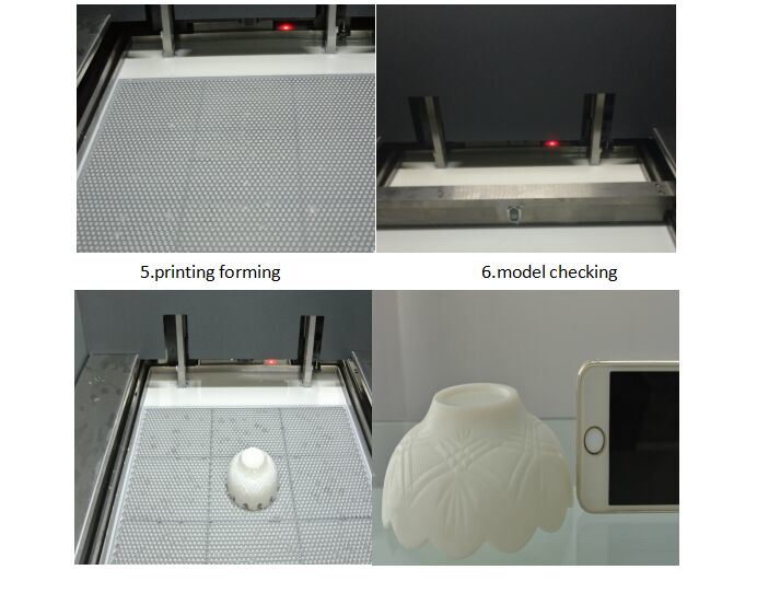 Factory Large Size High Precision Industrial Photosensitive Resin 3D Printing