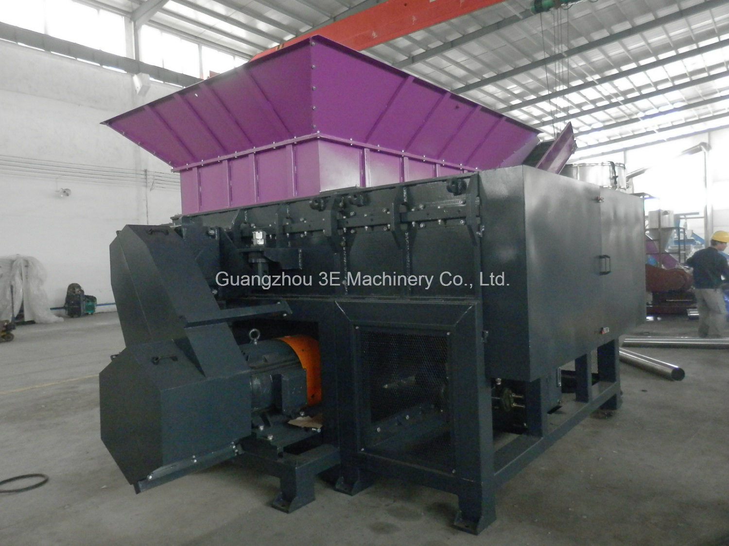 Plastic Shredder-Wt48 Series of Recycling Machine for Hard Plastic with Ce