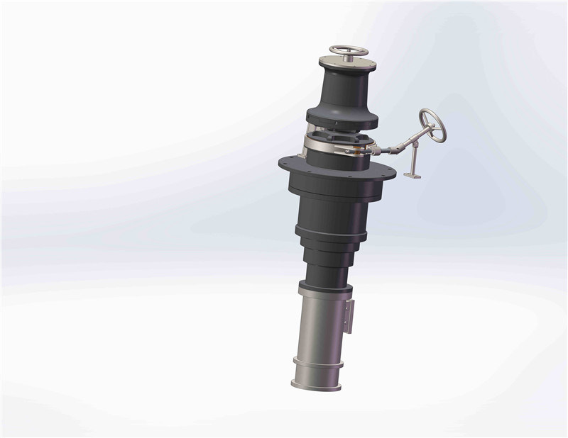 Vertical Electric Anchor and Mooring Capstan