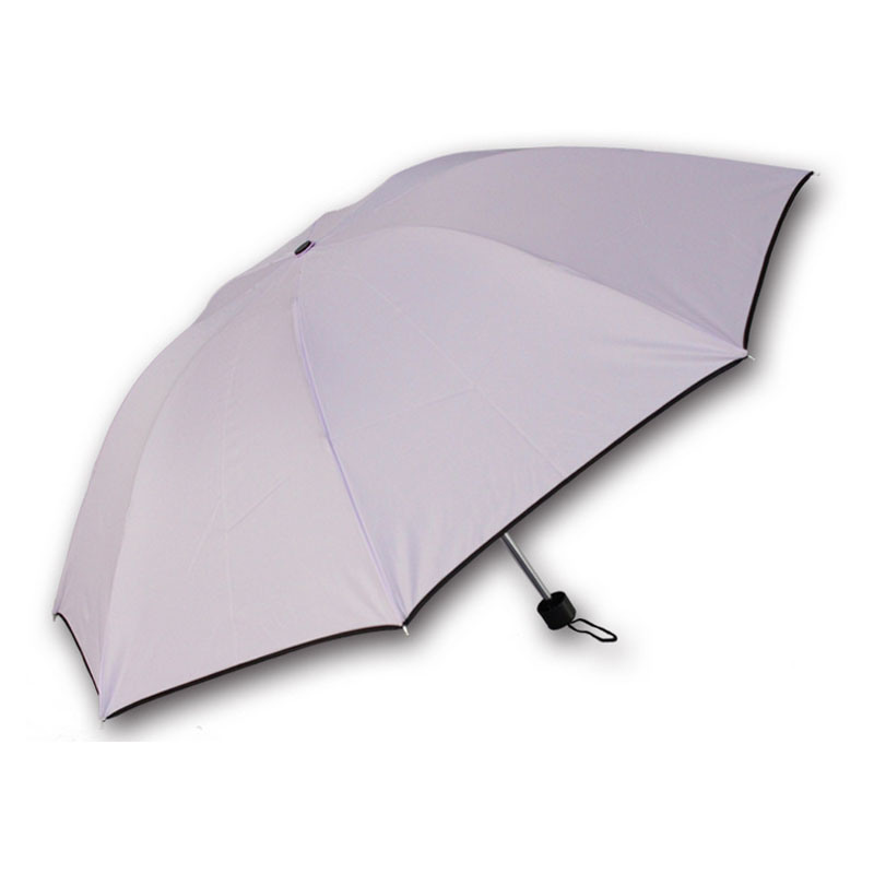 3 Folds 60#*8k Manual Windproof Umbrella