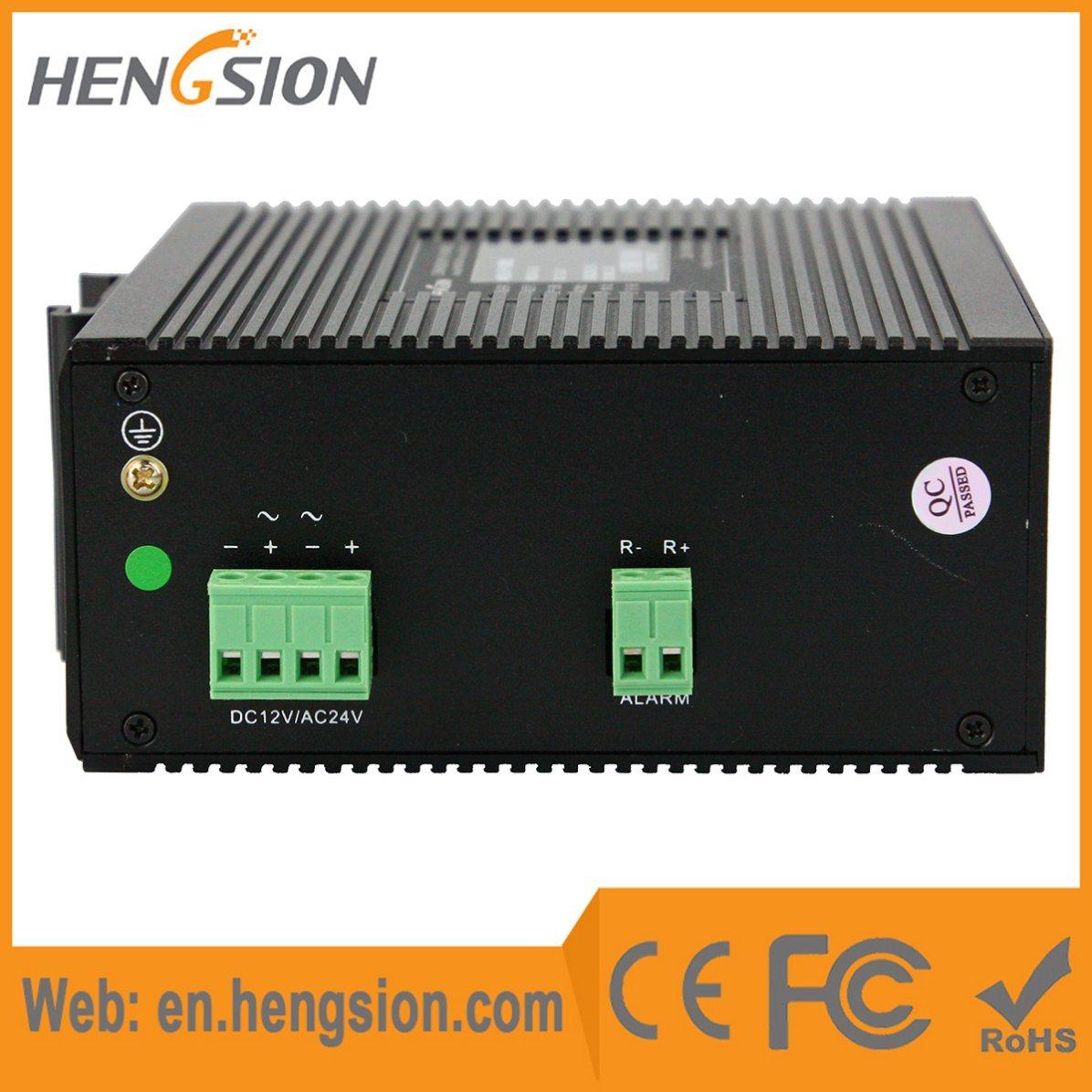 8 Megabit and 2 Gigabit Tx Industrial Ethernet Network Switch