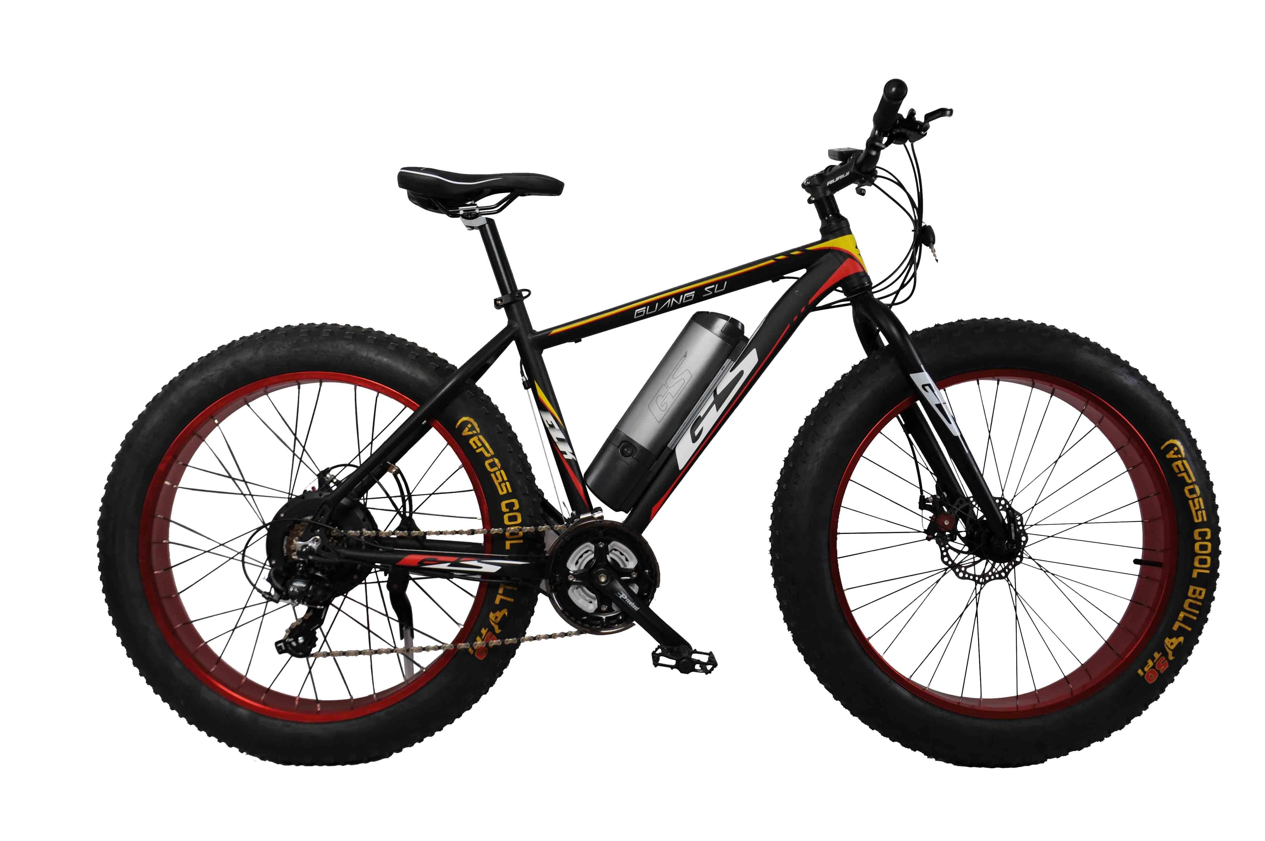26 Inch Fat Tyre Aluminum Alloy E-Bike Electric Bike