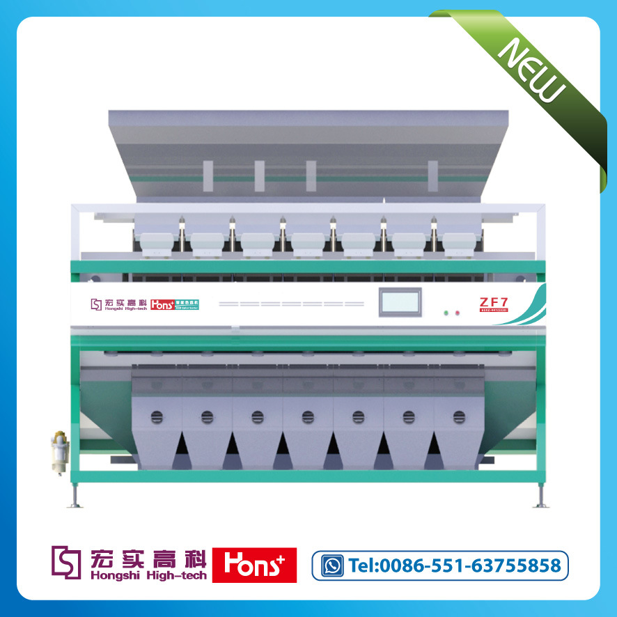 Hongshi CCD Rice Color Sorter Machine Professional on Stick Rice Sorting