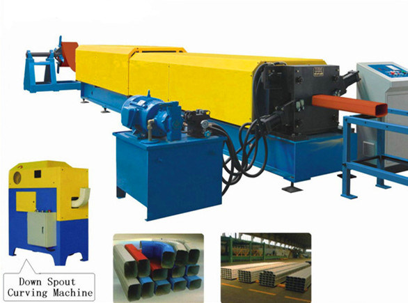 Hot Sale Automatic Ce Certificated Gutter Roll Forming Machine