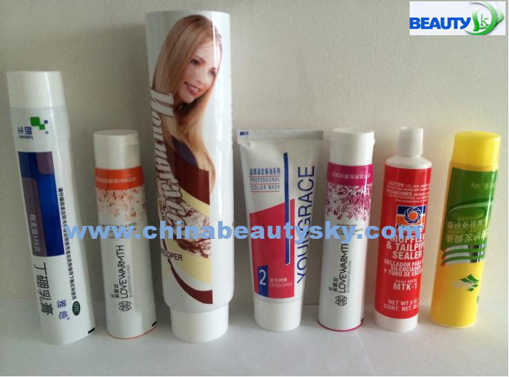 Cosmetic Packaging Skin Care Body Care Hand Cream Empty Collpasible Aluminum Plastic Laminated Tube