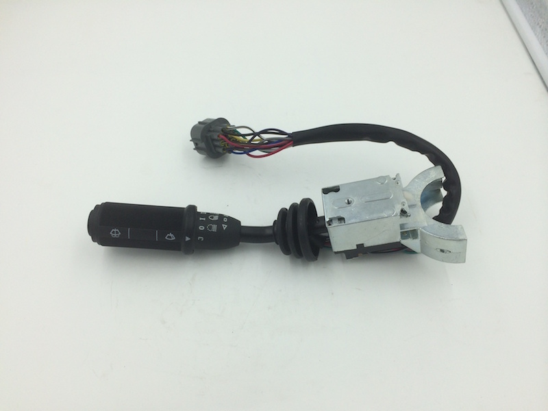 Switch Column, Road Lamps, Wiper Right Hand - Parts Jcb 3cx 4cx No. 701/80297