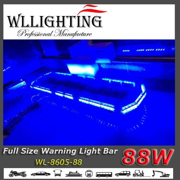 "47"" Blue Police Warning Ambulance Light Bar"