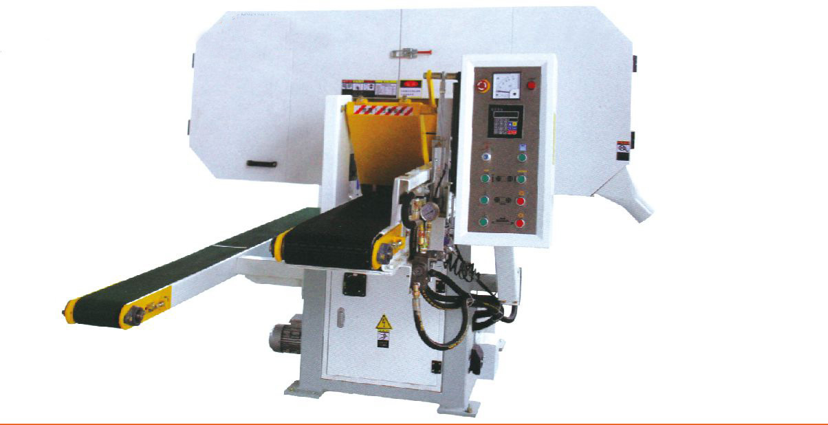 Horizontal Resawer Wood Cutting Saw for Log Cutting Machine