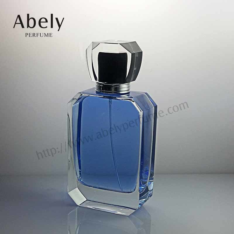 100ml Luxury Brand Transparent Glass Perfume Bottle