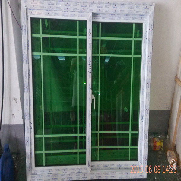 PVC Profile for Plastic Window with Girds