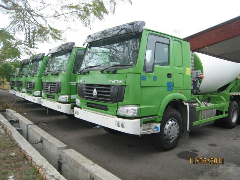 HOWO Concrete Mixer Truck for Construction