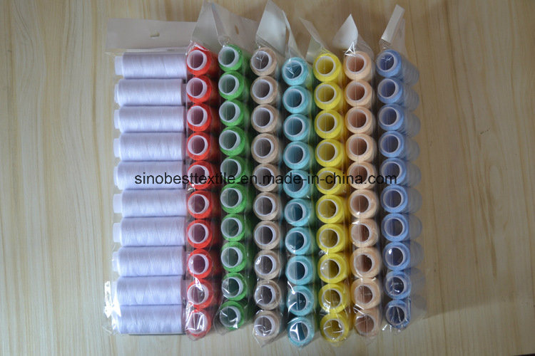100% Spun Polyester Sewing Thread 40/2 160m/Spool Hand Sewing