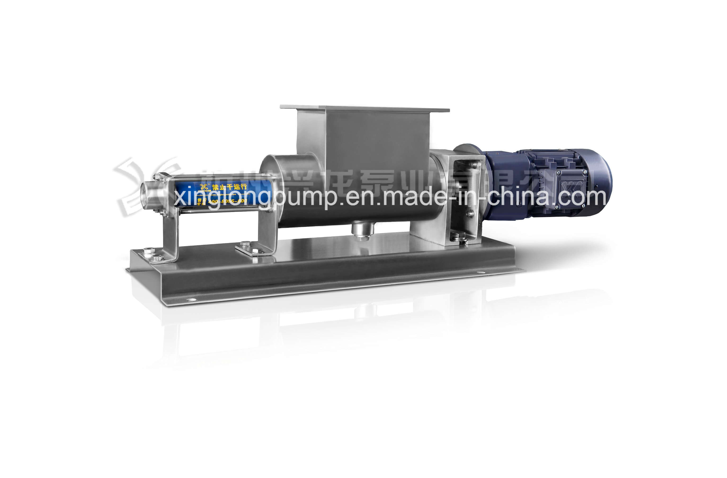 Xinglong Xg Series Open Hopper Mono Screw Pump Used in Tomato Ketchup/Mayonnaise Processing