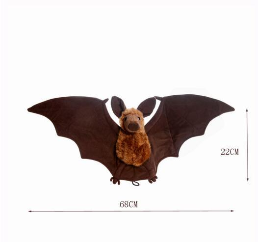 Plush Christmas Gift Stuffed Animal Bat with Wings