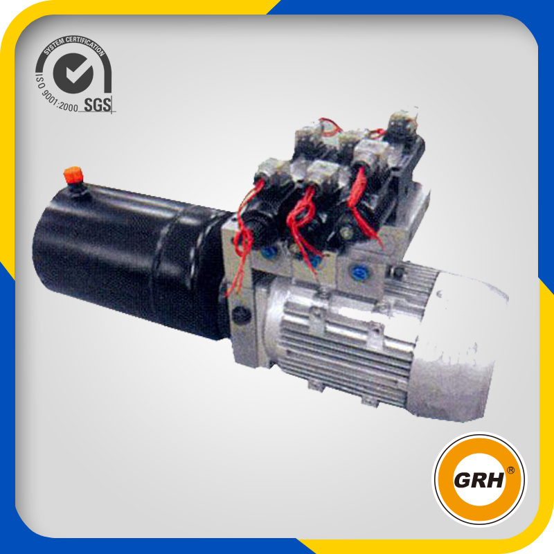 China Vehicle Lift 220V AC Hydraulic Power Unit